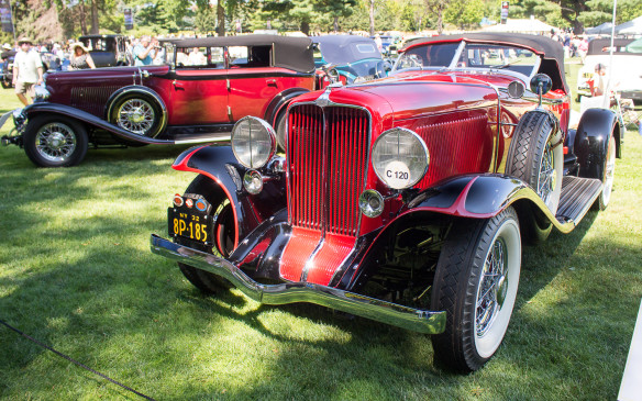<p>Held at the Inn at St. John's, in Plymouth, Michigan, and now in its sixth year, the Concours d' Elegance of America is the successor to the Meadow Brook Concours which ran for more than 30 years on the grounds of the Tudor revival mansion formerly owned by Matilda Dodge Wilson, widow of automotive pioneer John Dodge, in Rochester, on the other side of Detroit.</p>