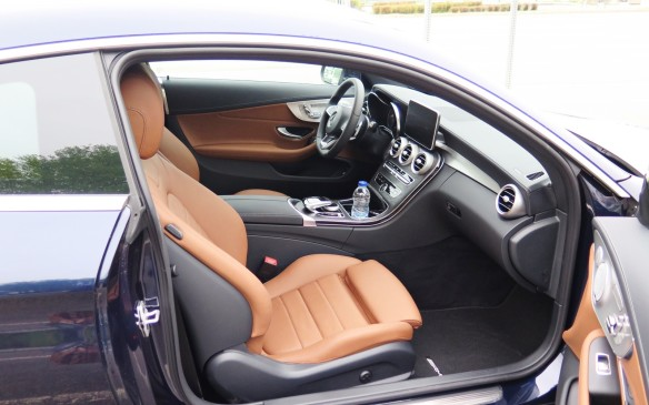 <p>The interior of the new C300 Coupe is a standout in terms of finish, fitment and design. Richly appointed, it treats occupants to a pleasant mix of shapes and shades. The seats are comfortable and supportive over long hauls and the near absence of road and wind noise make those long distances seem shorter.</p>