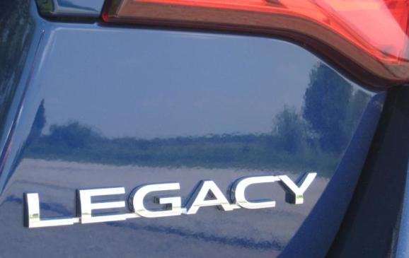 2015 Subaru Legacy - rear badging