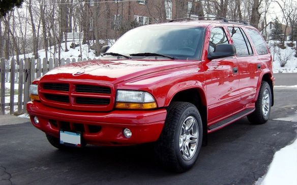 <p>But the easterners weren't immune to the attraction of big 4WD SUVs, making the 2003 Dodge Durango fourth on their hit parade.</p>