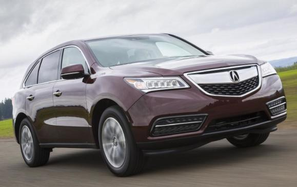 2014 Acura MDX - from 3/4 view low, motion