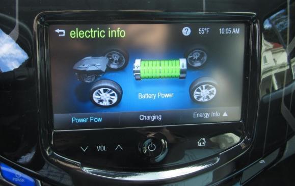 2014 Chevrolet Spark EV - Information Display