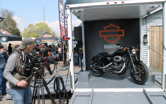 <p>Harley-Davidson took the opportunity to debut its Roadster bike – not seen anywhere before.</p>