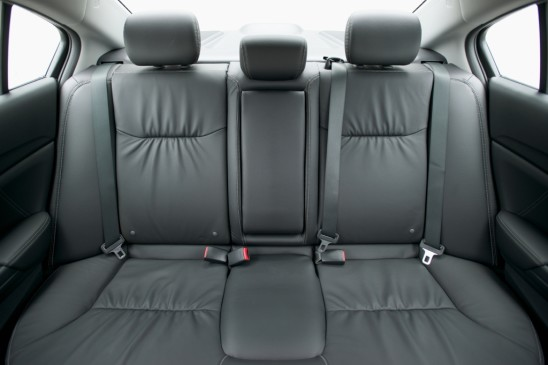 2013 Honda Civic sedan - rear seats, leather trim