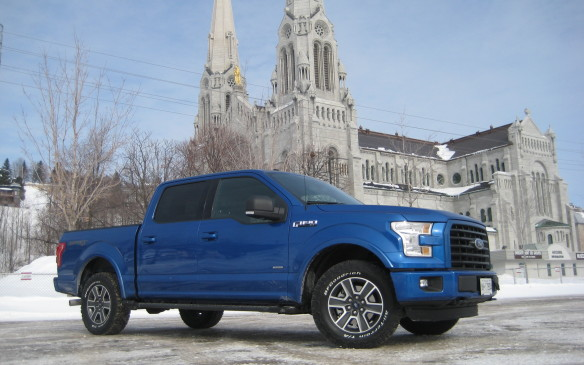 <p>Ford wanted to demonstrate the winter and off-road capabilities of its all-new, aluminum-bodied 2015 F-150 pickups, so it arranged a test-driving program in Charlevoix, Que., following a highway drive from Quebec City. The testing venue included a most challenging off-road course, carved out of a quarry, plus an icy slalom laid out on the frozen taxiways of the Charlevoix airport. To say the new F-150 capably handled the challenges is an understatement, while its performance on the open road was flawless.</p>