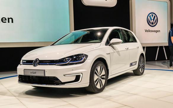 <p>Volkswagen is facing hard times, which puts an even greater stress level on its vehicle debuts. The new e-Golf will be one of its most important as it showcases the electrified future of the German brand.</p>