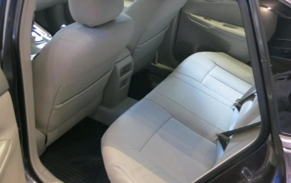2013 Nissan Sentra - rear seats