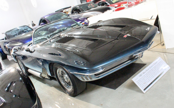 <p>The Sting Ray's styling was previewed a couple years earlier by this 1961 Mako Shark concept car.</p>