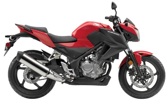 <p><strong>First choice: Honda CB300 FA ($4,699)</strong> - Light and easy to manage, but comfortable and quick enough, Honda took the plastic fairing off its popular RA this year to create the FA. It means less cosmetic damage if it falls over in a parking lot, but it still looks great. Its 286-cc, liquid-cooled single cylinder creates 30 hp, which is just right to keep both riders and insurance companies happy.</p>