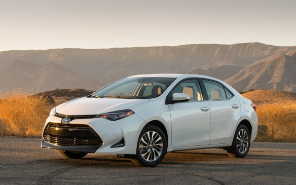 <p>Corolla refers to the petal structure that makes up a flower, though the word is Latin for the diminutive form of corona (crown or garland), and therefore fits in nicely with Toyota's naming tradition of deriving car names from Crown (Toyota's first luxury sedan following WWII).</p>