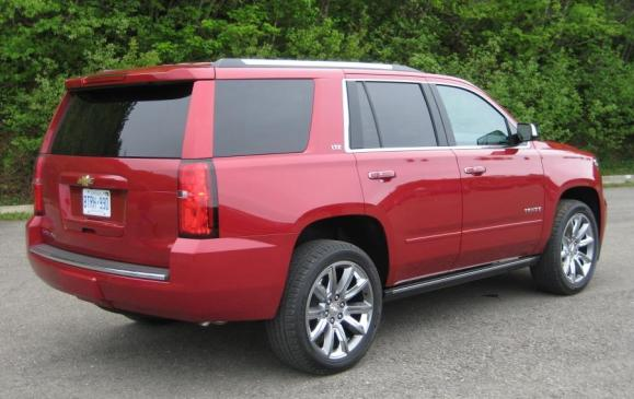 2015 Chevrolet Tahoe - rear 3/4 view