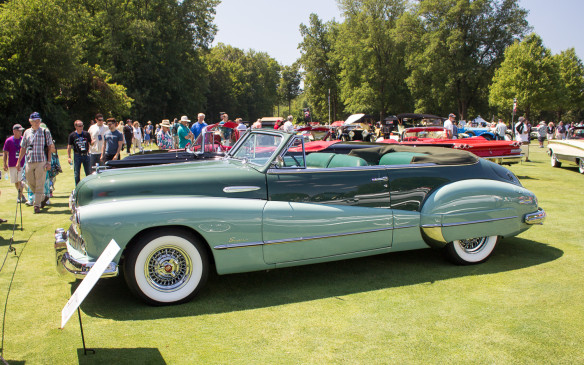 <p>In a different era, this 1948 Buick Super Convertible was the epitome of early post-war American style.</p>