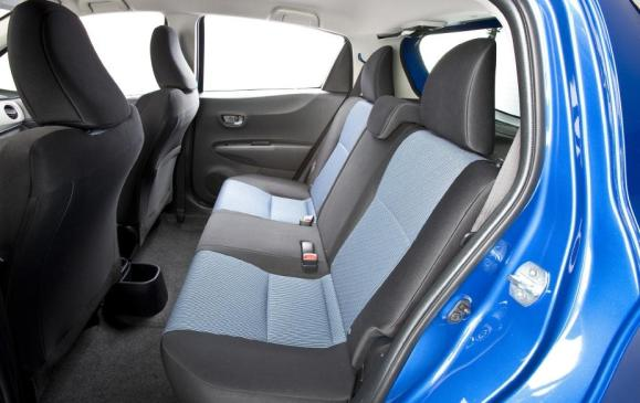 2012 Toyota Yaris Hatchback - rear seat
