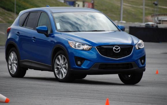 2012 Mazda CX-5 - front 3/4 on track