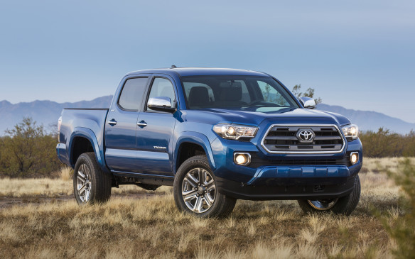 "<p><strong></strong>Redesigned for 2016, Toyota's mid-size Tacoma has vaulted past its bigger Tundra sibling to become the fifth-best-selling pickup and #32 overall – ""with a bullet!"" Sales of 2,902 Tacomas in Q1 were up fully 49.0% from a year ago.</p>"
