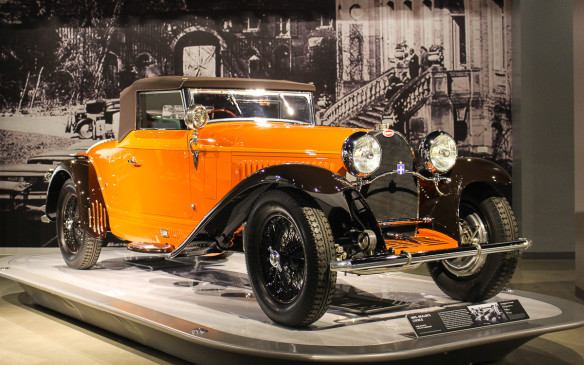 <p>This 1930 Type 44 Cabriolet was representative of Bugatti's highest production models of the time, with more than 1,100 produced.. It was offered in both open and closed models, with a 3.0-litre SOHC straight-eight engine, derived from that in its Type 43 sibling, which was said to be the first production car capable of 100 mph (161 km/h).</p>