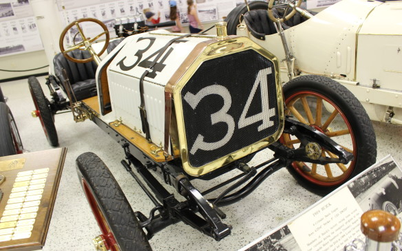 <p>There was racing at the Speedway even before the first Indianapolis 500 in 1911, beginning two years earlier when the track was finished. It was inaugurated with the 250-mile Prest-O-Lite Trophy trophy race, won by Bob Burman, driving a Buick at an average speed of more than 53 mph (85 km/h). Of the nine cars that finished that race, three of them were Buicks.</p>