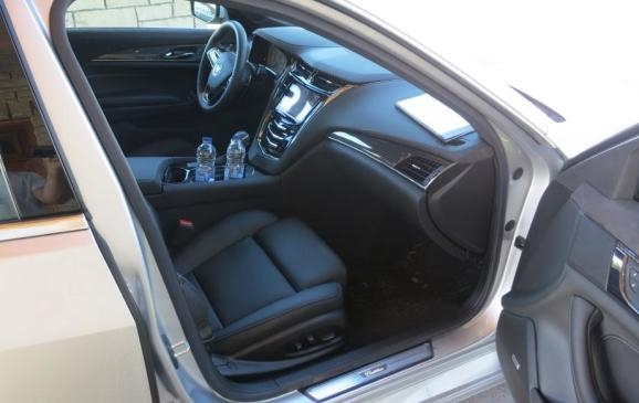 2014 Cadillac CTS - front seat passenger