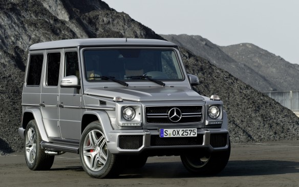 <p>5. Mercedes-Benz G 63 AMG and G 550 – In army fatigues it's been dispatched to patrol such conflict zones as Bosnia and Afghanistan. Developed jointly by Daimler-Benz and Austrian four-wheel-drive specialist Steyr-Daimler-Puch, Mercedes' Gelandewagen, or G-Class, was conceived in 1979 after product planners predicted that the 4X4 market would grow beyond military applications. In 1981 the Gelandewagen gained an automatic transmission and air conditioning, capturing the attention of U.S. grey-market importers. Mercedes began formal importation in 1998.</p>