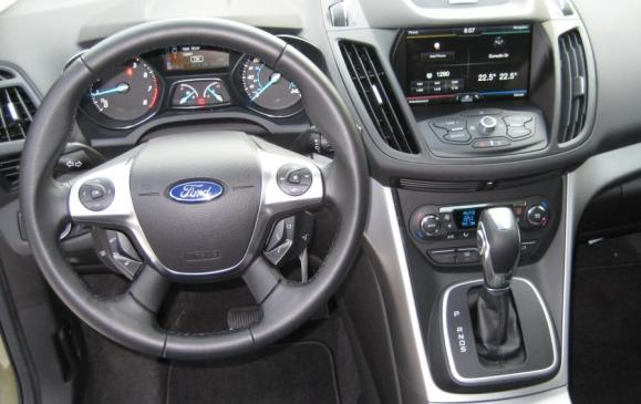 2013 Ford Escape - steering wheel and instrument panel