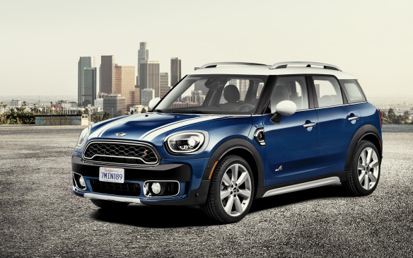 <p>Mini showcased a new second-generation Countryman at the 2016 Los Angeles Auto Show and its wider and longer iteration is expected to become available in Q1. The larger structure makes a big difference when it comes to rear seat room and cargo space.  </p> <p>This larger version gets stretched out even more and will launch with three options: Cooper, Cooper S and Cooper S E ALL4 plug-in hybrid. Mini is giving electrification another kick at the can after the Mini E came out back in 2010. The S E ALL4 will have a range of up to 40 kilometres.</p>