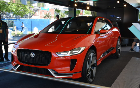 <p>The concept shown off at the 2016 Los Angeles Auto Show has 400 hp and 516 lb-ft of torque and it can go from 0-100 km/h in roughly four seconds. Its lithium-ion battery pack has a capacity of 90 kWh that can maximize its range to 386 km on a single charge.</p> <p>The I-Pace is based off of a brand new platform that will be used for upcoming product that most likely will include an all-electric sedan.</p>
