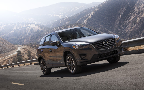 <ol> <li><strong>11. Mazda CX-5 2.0L – </strong>Mazda's SkyActiv philosophy of increasing efficiency and reducing weight with every generation has led to some very impressive vehicles that retain their fun-to-drive focus. The CX-5 was the first ground-up application, and in base trim uses a 2.0-litre engine with 155 horsepower and 150 lb-ft of torque. While not the most fuel-efficient in the segment anymore, its ratings of 9.3 L/100 km city, 7.6 highway and 8.5 combined are still excellent. Pricing starts at $28,195.</li> </ol>