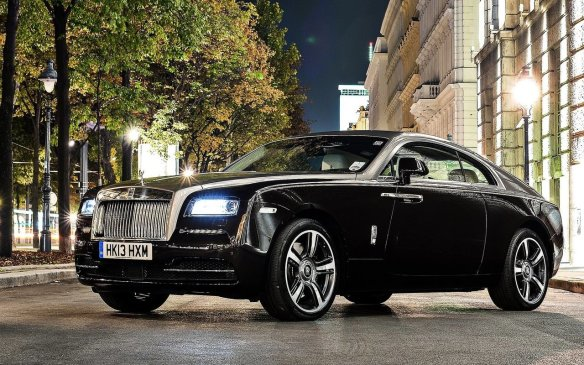 <p><strong>2015 Rolls-Royce Wraith –</strong> A bespoke-looking two-door version of the Ghost, the Wraith is unlike any of its competitors thanks to Rolls' trademark reverse-opening doors. The cabin is equally bespoke with beautifully finished stitching, wood and real metals applied everywhere. Its twin-turbocharged V-12 engine puts out well over 600 horsepower, making it one of the most powerful Rolls around.</p>
