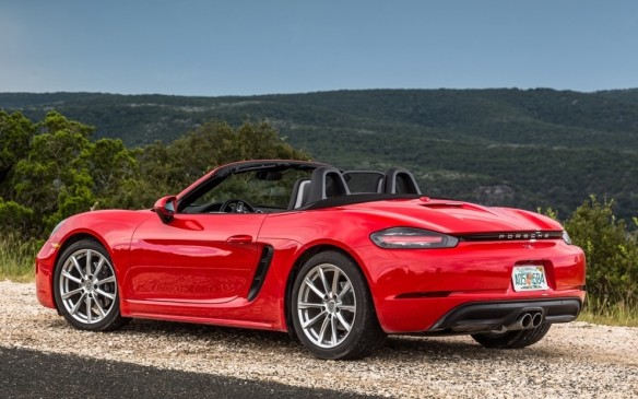 <p>Porsche's latest sports car is the newest generation of the mid-engined Boxster roadster, which has been renamed to pay homage to the classic racing 718 of the 1950s. The latest generation features more power (from a 300-hp turbocharged flat-4 of 2-litre displacement, and 350-hp in a 2.5-litre engine) and improved driving performance (thanks to a completely retuned suspension and uprated brakes).</p>