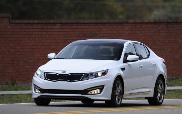 2012 Kia Optima - Front - White