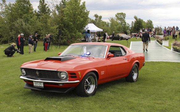 <p>From the same era, this 1970 Ford Mustang Boss 429 took top honours in the Muscle Car class.</p>