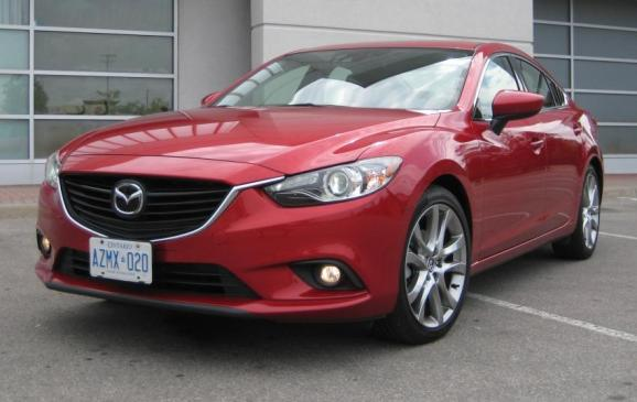 2014 Mazda6 GT - front 3/4 view low