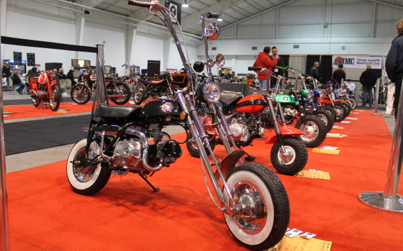<p>The North American International Motorcycle Supershow, held in Toronto every January, bills itself as the largest motorcycle show on the continent, and it's easy to see why. There are five display halls packed with bikes and people. Here are some of the best of the weekend.</p>