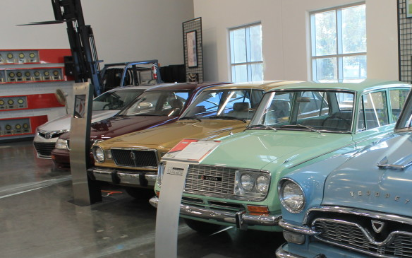 <p>That second model sits next to the Toyopet here in the main exhibit hall. The Toyota Corona was first imported in 1965 and its sales the following year – 14,764 units – surpassed all previous Toyota sales combined.</p>
