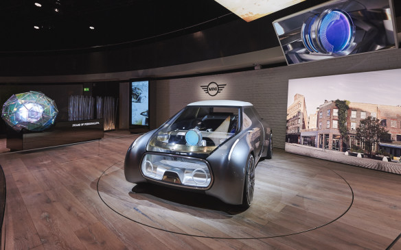 <p>There's also a futuristic Mini – fun to drive and smart enough to take on the congestion of expanding cities.</p>