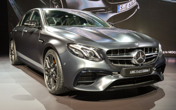 <p>Mercedes-AMG brought the hammer to LA with the debut of the 2018 E63 – the most performance-minded E-segment sedan out there. Under the hood, the E63 is powered by the twin-scroll turbocharged 4.0-litre Biturbo V-8 that's good for 563 hp, and 603 hp in the sportier E63S version.</p>