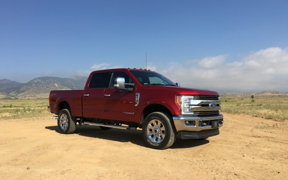 <p>The exterior design of the new Super Duty will have a familiar look to Ford truck lovers. The lineup now shares its shape with its lighter-duty sibling, the F-150. Features that set the Super Duty apart in the past, such as the domed hood and more upright windshield, are gone, replaced by a more aero-efficient shape.</p>