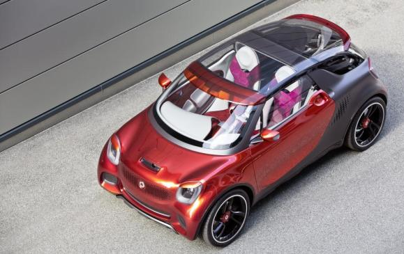 Smart Forstars Coupe Concept (Paris auto show) - Top