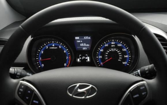 2013 Hyundai ELantra GT - instrument cluster