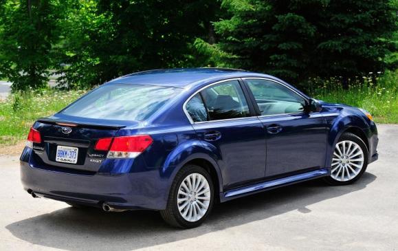 2011 Subaru Legacy 2.5 GT - Rear