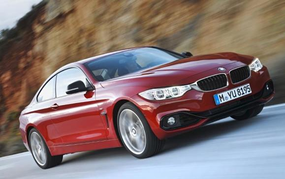 2014 BMW 4 Series - front 3/4 motion