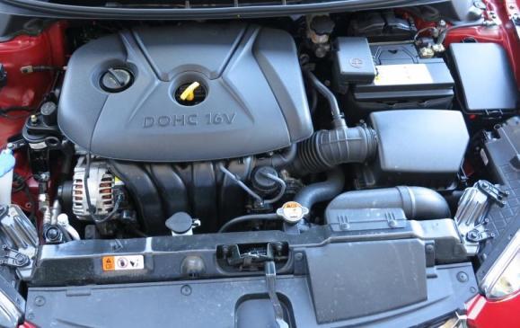 2013 Hyundai Elantra Coupe - engine