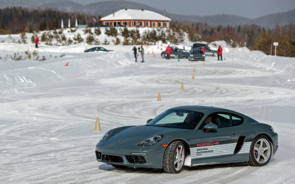 <p>NOTRE-DAME-DE-LA-MERCI, QC –  At Porsche Camp4 winter driving is all about control. Even when it is too slippery to stand, you can control a four-wheeled vehicle, with the proper technique. </p>