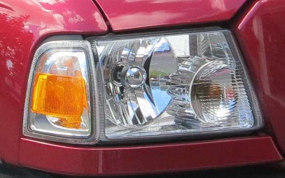 <p><strong>HALOGEN LAMPS - </strong>Halogen bulbs emit more blue and less infrared light, giving them a whiter appearance. They also use less electricity and run cooler, allowing the replacement of glass lenses with polycarbonate and other plastics which are lighter, more scratch resistant, less prone to breakage and easier to mold into the intricate shapes desired by designers. In 1983, North American regulators relented on their rules and allowed the use of separate bulbs in headlights on this continent, opening the door for innovative new designs and technologies – although still within well-defined limits.</p>
