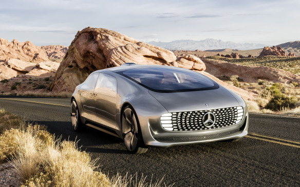 <p><strong>Mercedes-Benz R 015 Luxury in Motion</strong></p> <p>Although shaped more like a transport trailer than a luxury car, Mercedes-Benz's awkwardly named R 015 Luxury in Motion concept offers several neat ideas. The shell is made of a combination of carbon-fibre-reinforced plastic (CFRP), aluminum and high-strength steel, which allows for the Rolls-Royce-inspired rear-hinged rear doors to open independently of the fronts. Both sets of doors can open to 90 degrees, making entry and exit pretty easy.</p>