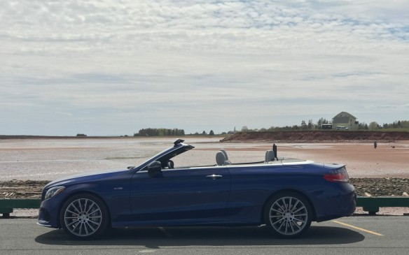 <p>All Mercedes convertibles sold in Canada include heated seats as standard, but there are many other optional features to help expand the topless season: a heated steering wheel, an AirScarf that blows hot air from beneath the headrest onto the back of your neck, and an AirCap system that raises a screen behind the passengers and a flap above the windshield, to keep cold air out of the cabin.</p>