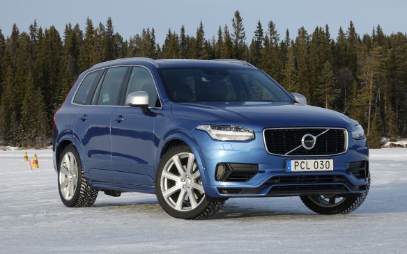 <p>In spite of its considerable heft of more than 2,300 kilograms, the XC90 T8 R-Design plug-in hybrid was a revelation on the ice. No matter which of its seven driving modes we chose and whether or not the electronic stability control was switched on, the square-profiled SUV tackled every turn with impressive balance and aplomb. Even in Pure mode, with only the rear wheels driven by the electric motor and the ESC in Sport mode, against our Swedish instructors' advice. The XC90 threaded its way through smoothly, never threatening to spin out, as we fully expected it to.</p>