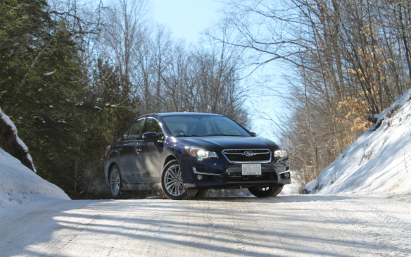 <p>Stopping on a hill, or anywhere, is all about having effective brakes. All-wheel drive is no advantage at all for braking. Many people don't understand this and assume their AWD vehicle can stop more quickly in snow than a 2WD vehicle. It can't.</p>