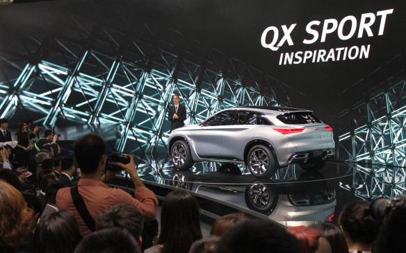 <p>Infiniti also introduced the QX Sport Inspiration that shows the future design for its premium crossovers.</p>