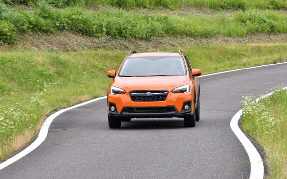 <p>The new model has firmer steering, sharing the 13:1 ratio of the Impreza, and that made it more rewarding to drive on a twisting road, even with bumps and manhole covers.</p>